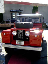 1964 Land Rover 109 Truck - front view