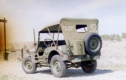 1942 Jeep - back view