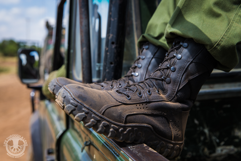 Rocky S2V 102 Tactical Military Boot in East Africa