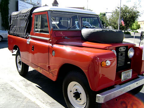 Restored 1964 Land Rover 109 Truck